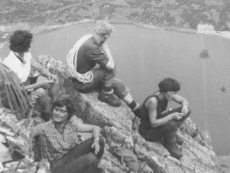 Rockhoppers on Cadair Idris in 1955